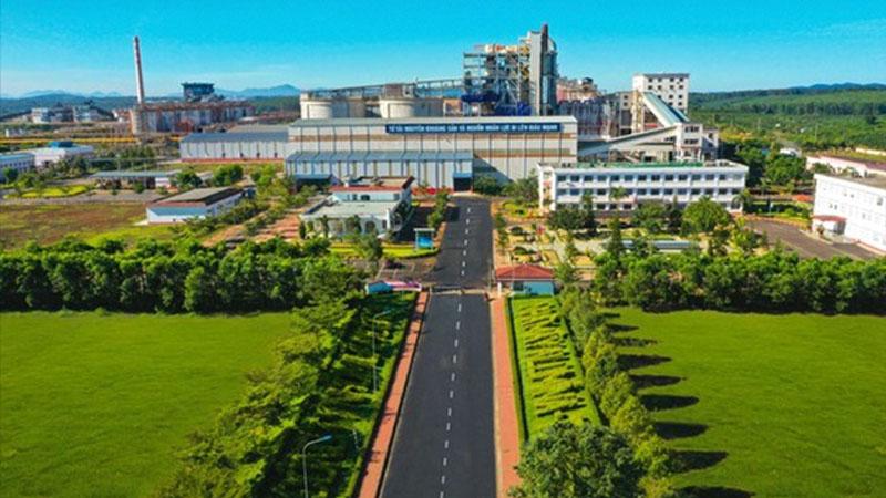 Nhà máy Alumin Tân Rai ở Lâm Đồng