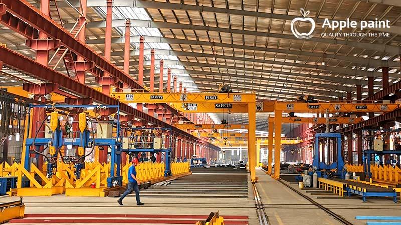 Nhà máy kết cấu thép Minh Trị Vũng Tàu