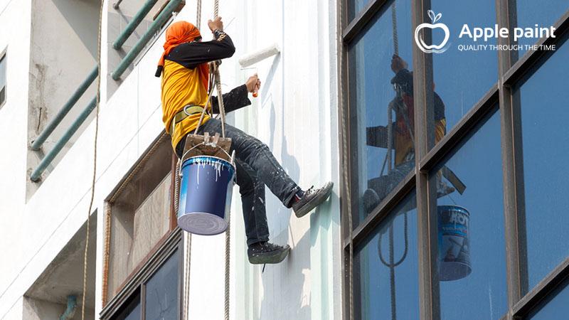 Apple Paint cung cấp và thi công sơn nội ngoại thất cho ChingLuh