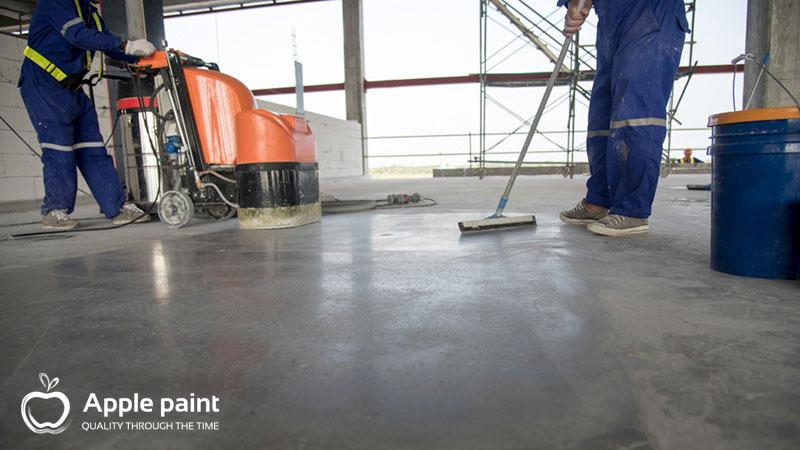 Thi công sơn sàn epoxy cho nhà xưởng