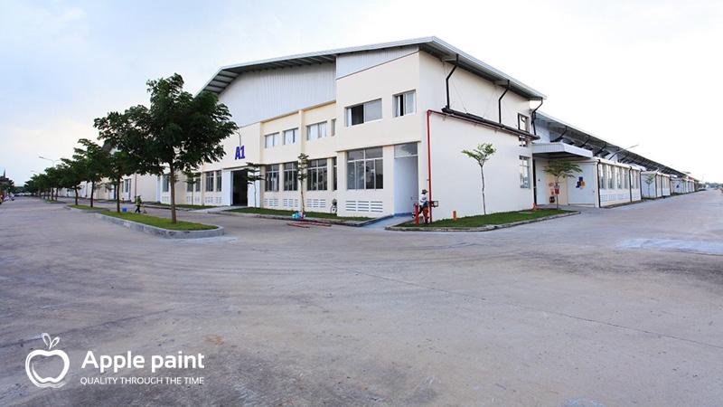 Khối nhà xưởng của Cty Giày Fu Luh tại Cần Giuộc, Long An