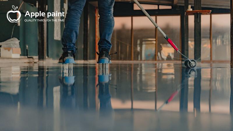 Apple Paint cung cấp và thi công sơn epoxy cho cty giày Hài Mỹ