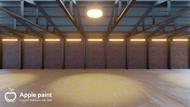 Sơn Alkyd do Apple Paint sản xuất dùng sơn kèo thép với bám dính tốt, tính bảo vệ cao