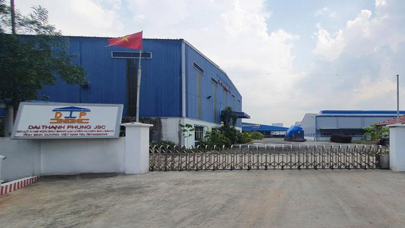 Nhà máy thép tiền chế Đại Thành Phụng - Khách hàng của Apple Paint