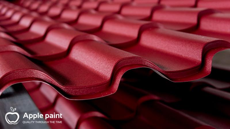 Apple Paint chịu được môi trường có độ ẩm cao, chống thấm và nấm mốc tốt