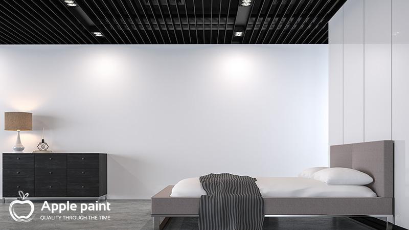 Sơn Alkyd được sử dụng trong nội, ngoại thất, giúp sản phẩm sáng bóng và bền màu