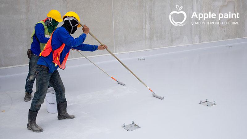 Sơn chống thấm bảo vệ công trình không bị thấm, dột, gây giảm tuổi thọ.