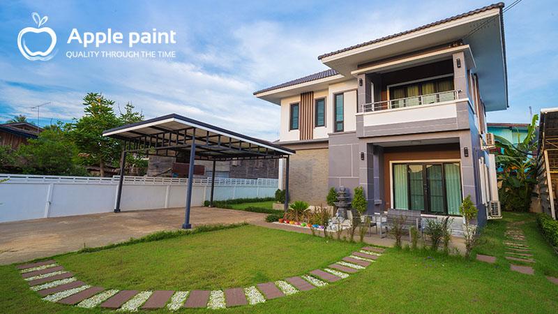 Sơn chống thấm bảo vệ ngôi nhà bạn trước mọi loại thời tiết tại Việt Nam.