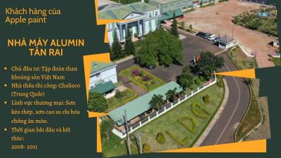 Nhà máy Alumin Tân Rai