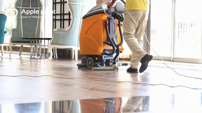 Dịch vụ đánh bóng sàn phù hợp với mọi công trình